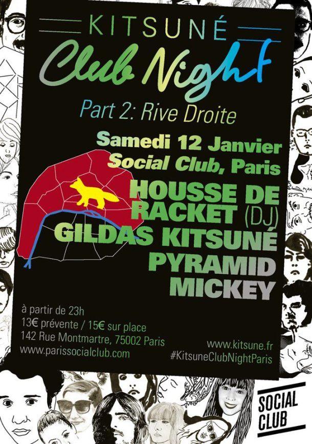 kitsune club night part 2 janvier