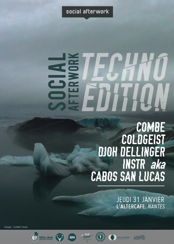Visuel Social Afterwork TECHNO EDITION RECTO fini