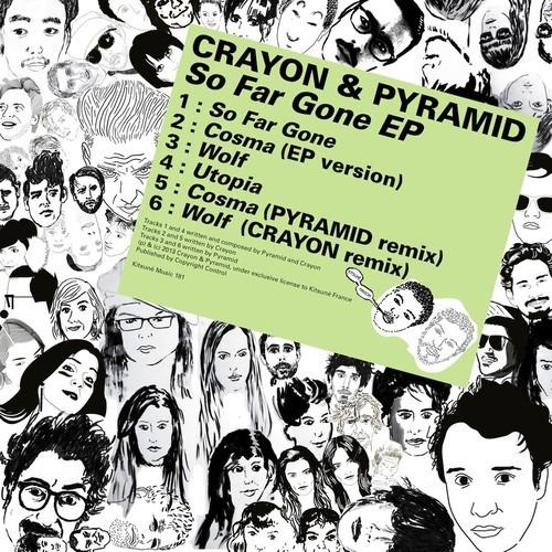 LE CRAYON & pyramid
