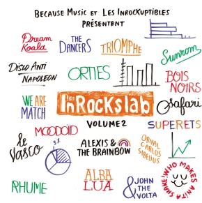 Les InRocKs Lab – 2 compilations àgagner